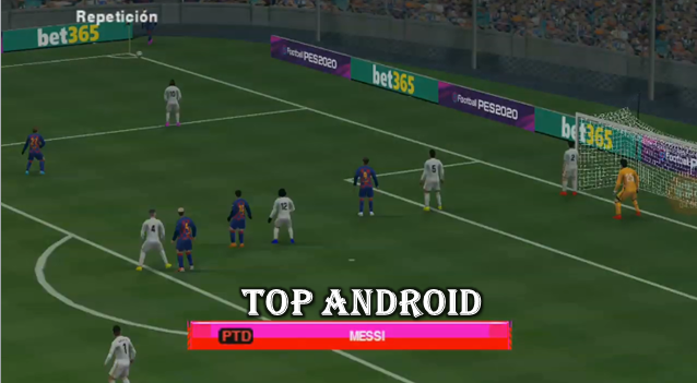 PES 2019 LITE ANDROID Camera PS4 Offline 400MB