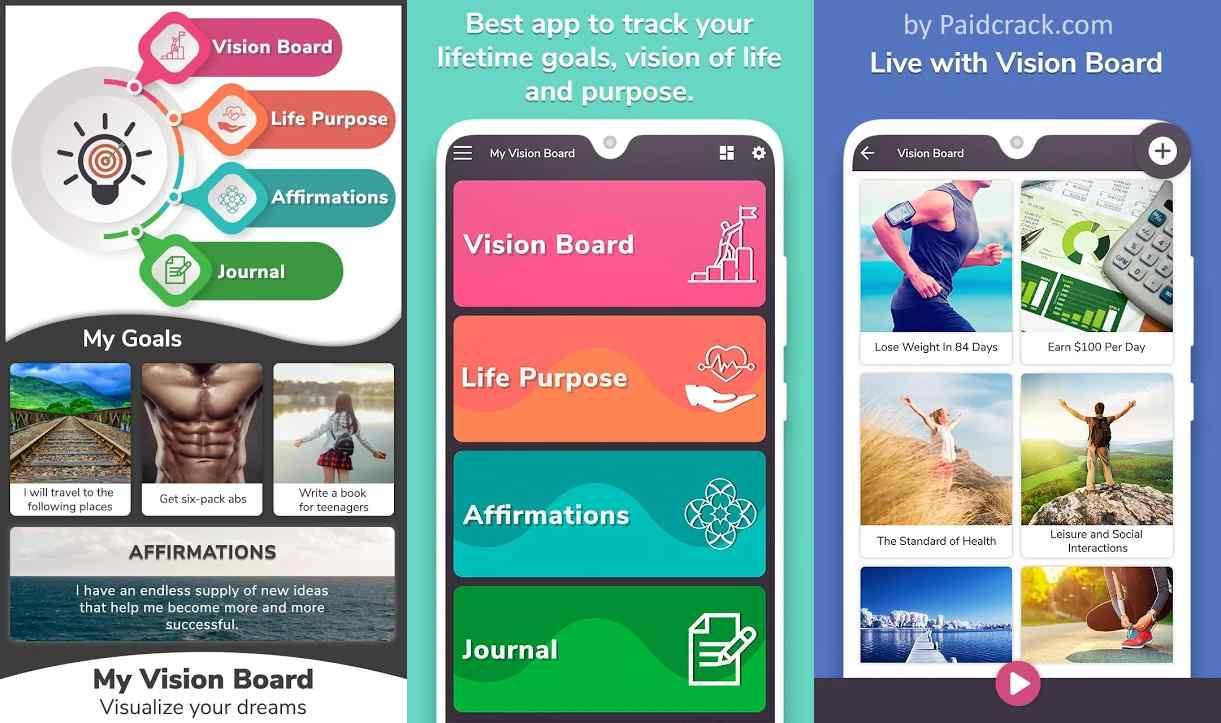My Vision Board - Visualize your dreams Premium Apk 1.12