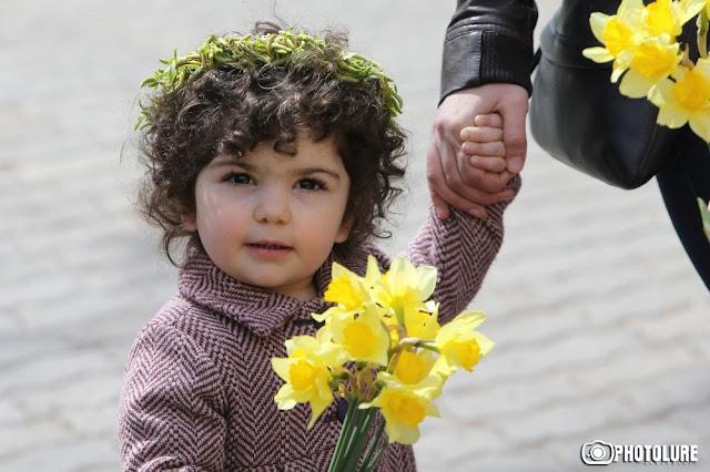 Domingo de Ramos es también Día de la Bendición de los Niños