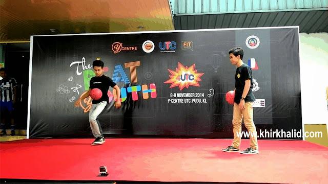 Freestyle football di Y-centre UTC Pudu Central