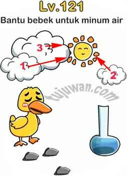 Brain Out : Bantu Bebek Untuk Minum Air Jawaban Brain Out
