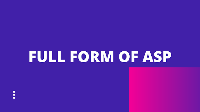 Full form of ASP / ASP Full form | How to become an ASP OFFICER?