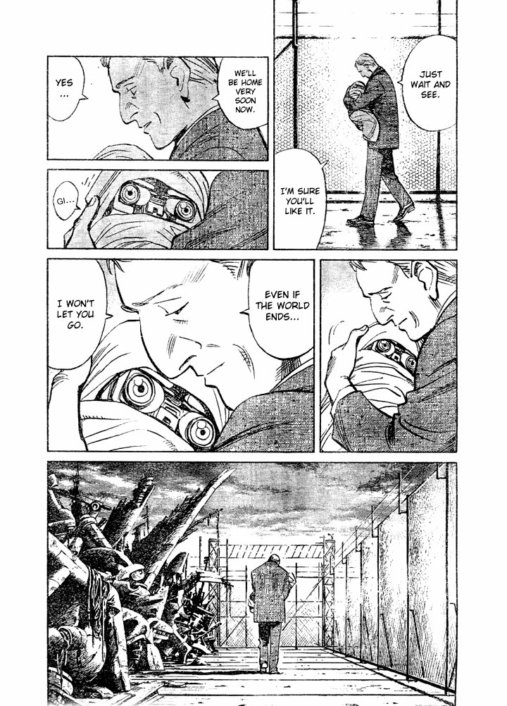 Page 18, Act 63: A Wish to the Stars from Naoki Urasawa's Pluto Volume 8