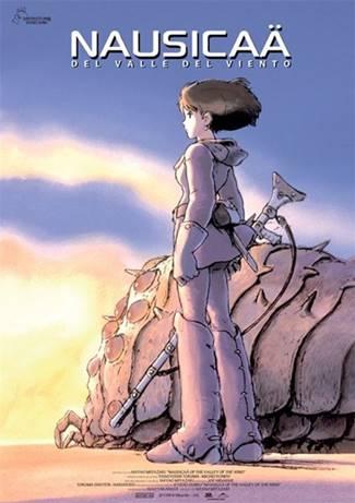 Nausicaa del valle del viento de hayao miyazaki