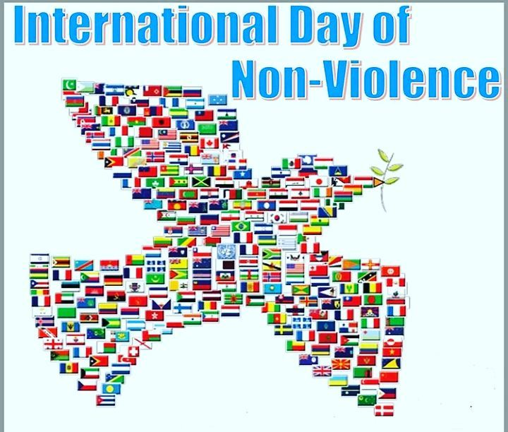 International Day of Non-Violence Wishes Lovely Pics