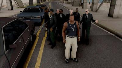 gta san andreas bodyguard mod