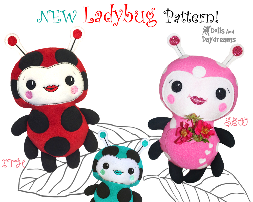 dolls and daydreams doll and softie pdf sewing patterns new