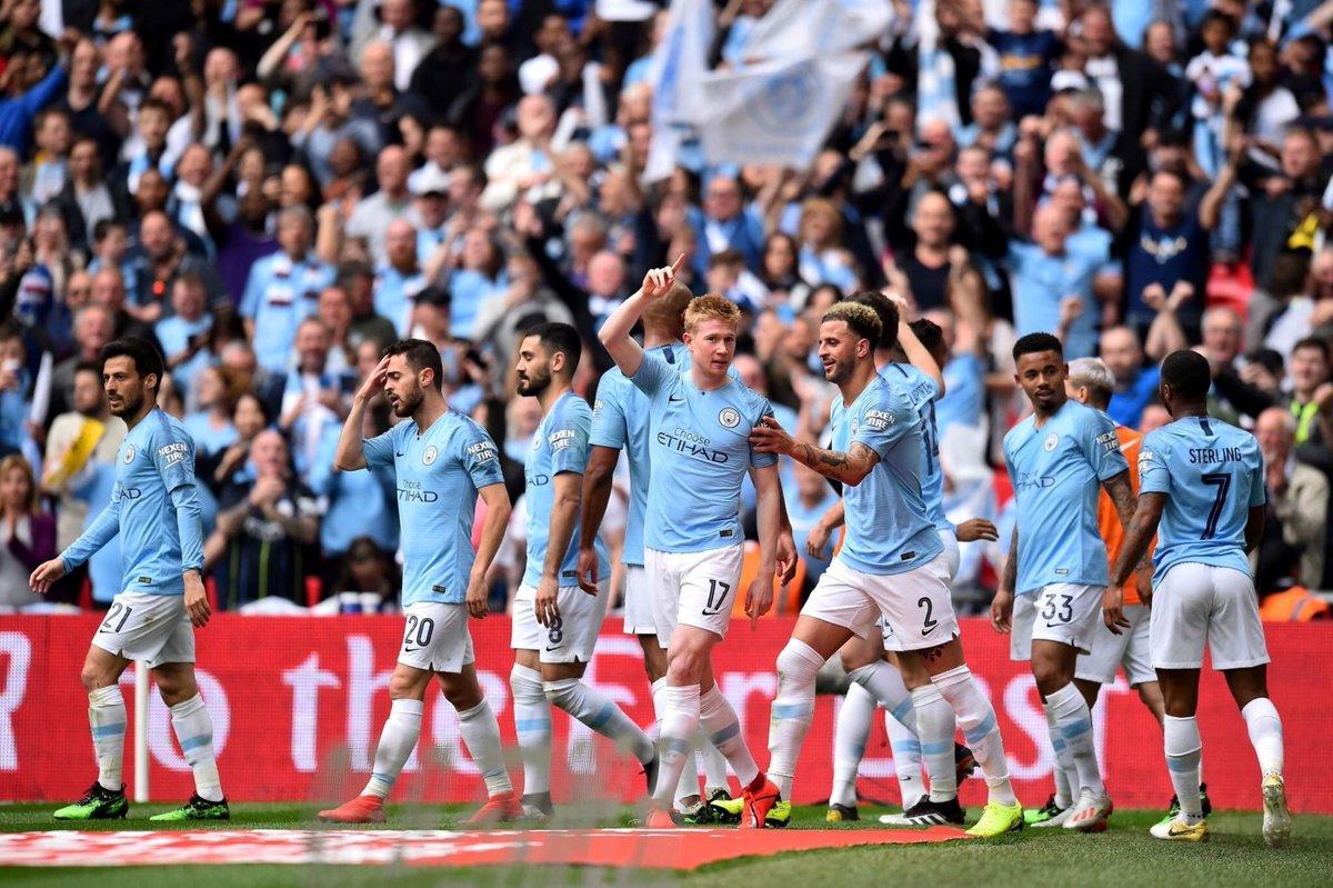 Hasil Akhir Pertandingan Bola FA Cup, Manchester City 6