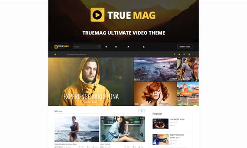 True Mag – WordPress Theme for Video and Magazine V.4.3.1