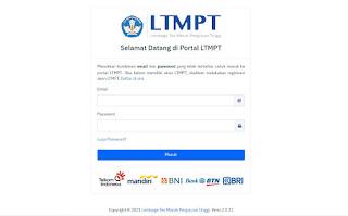 Cara Registrasi Akun LTMPT  untuk Daftar SNMPTN 2021