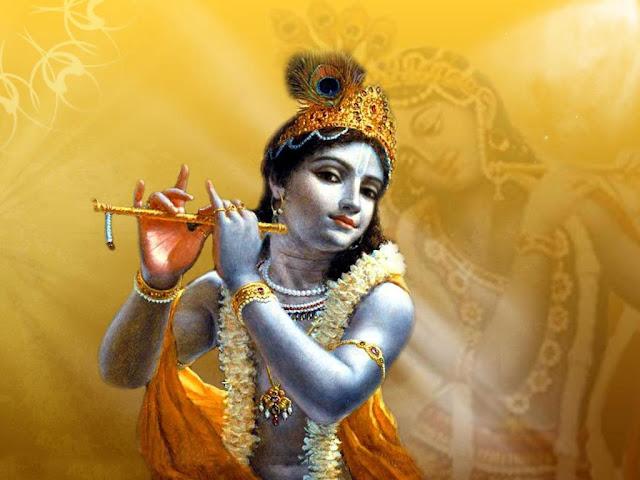 Best God Krishna Face HD Wallpaper