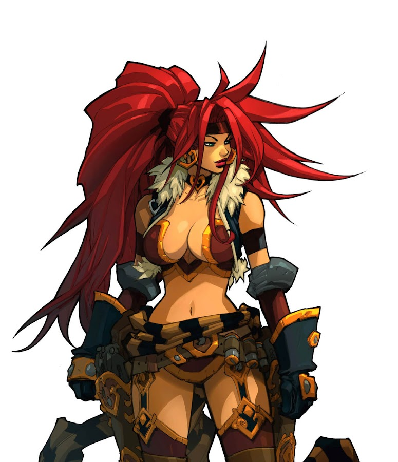 battle chasers nightwar red monika