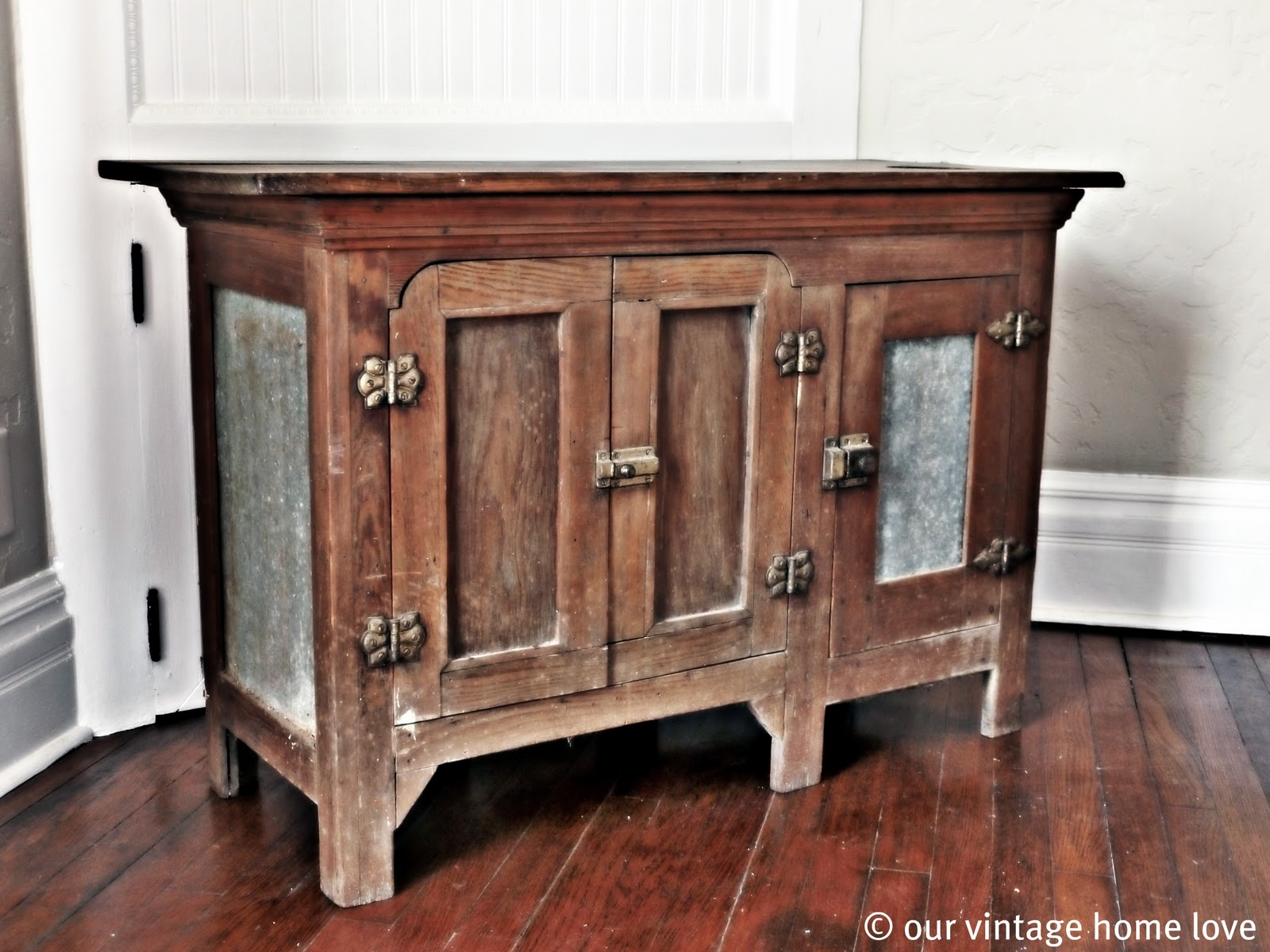 Vintage Hoosier Cabinet | Cabinets:Dressers:Chests | Pinterest |Retro Cupboards