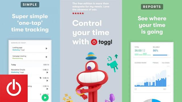 تطبيق Toggl