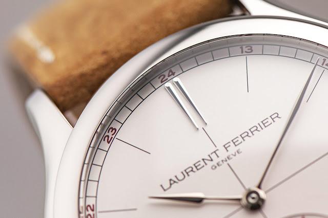 Laurent Ferrier Classic Origin Opaline ref. LCF036.TI.G1G