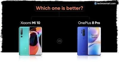 mi 10 vs oneplus 8 comparison