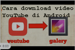 Cara download video YouTube di Android 1