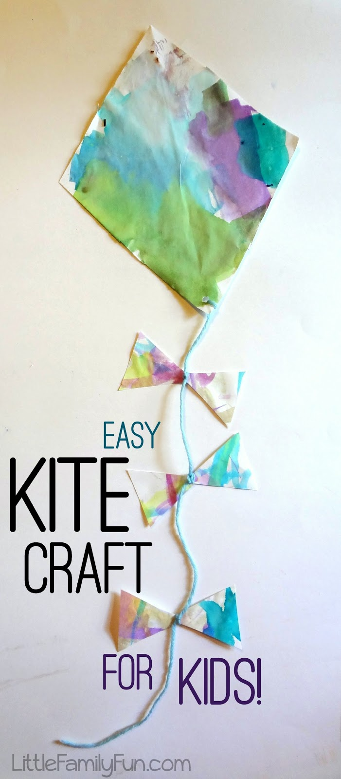 Little Family Fun Easy Kite Craft For Kids