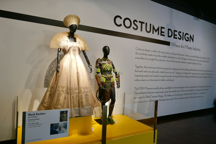 Black Panther 28th Motion Picture Costume Design exhibition