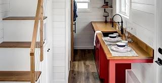 desain interior dapur rapi