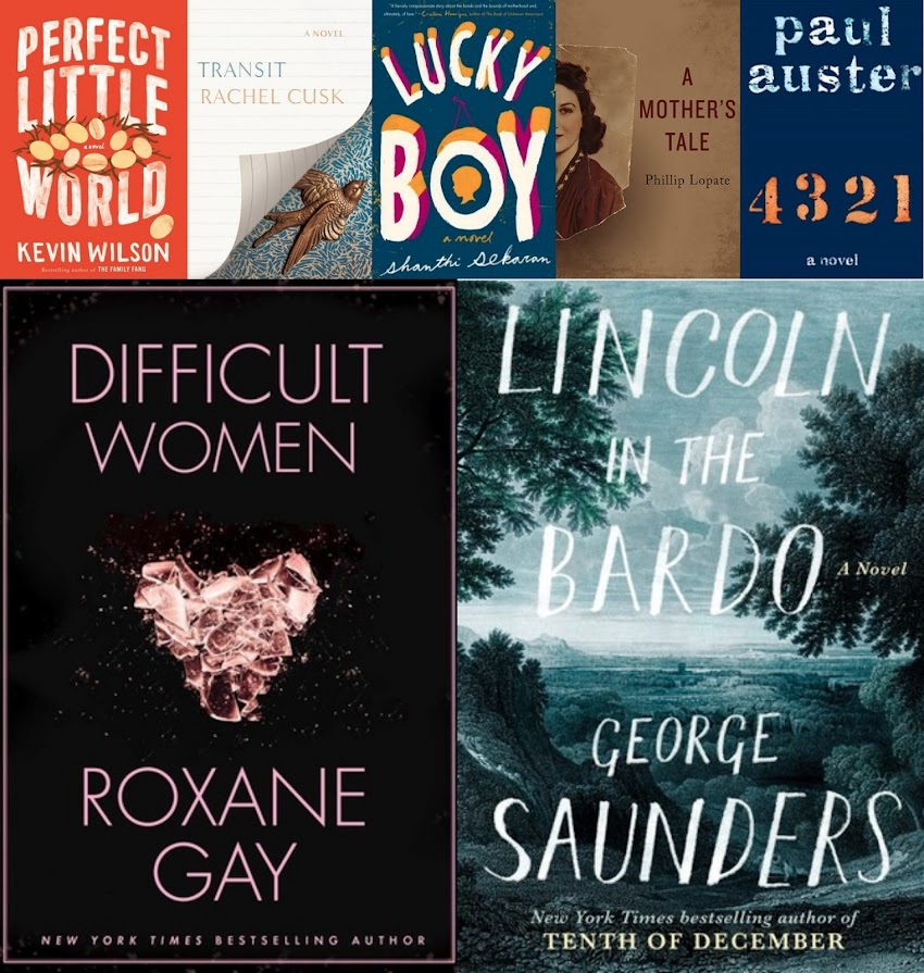 2017 books & Goodreads giveaways