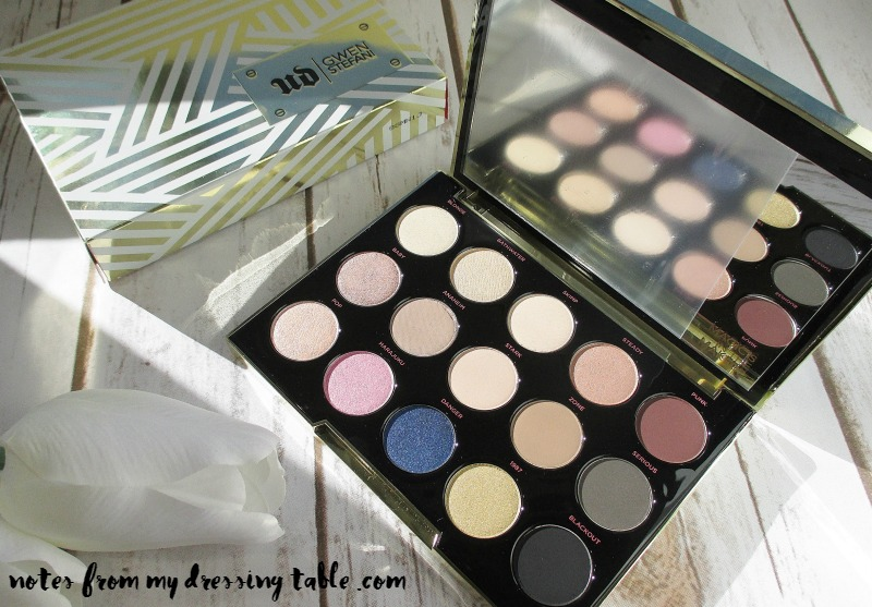Rock Your Beautiful Eyes With Urban Decay and Gwen Stefani-Palette Details-notesfrommydressingtable.com