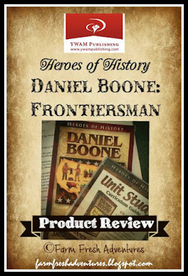 Daniel Boone: Frontiersman...a Unit Study product review