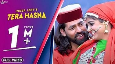Tera Hasna mp3 Song download   InderJeet ~ Gaana Himachali