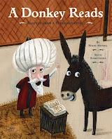 cerita jenaka, keledai, membaca buku