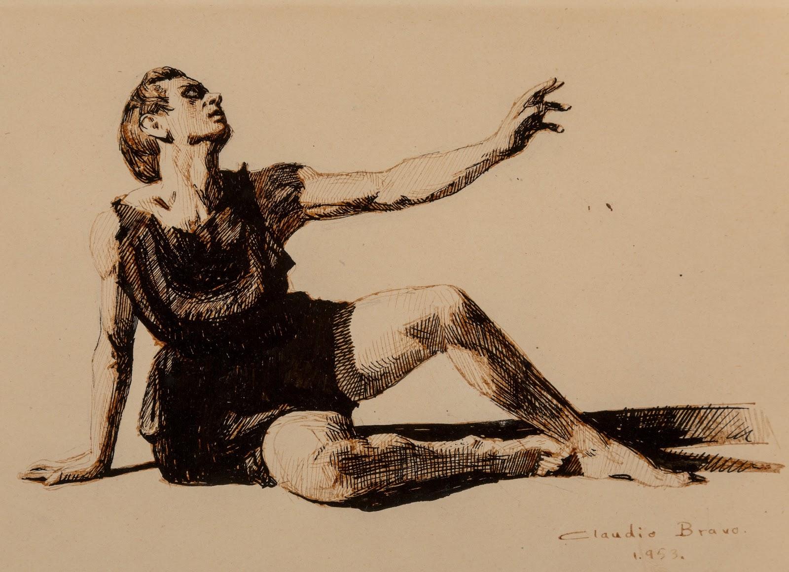 Claudio  ravo  Camus Untitled Seated Dancer
