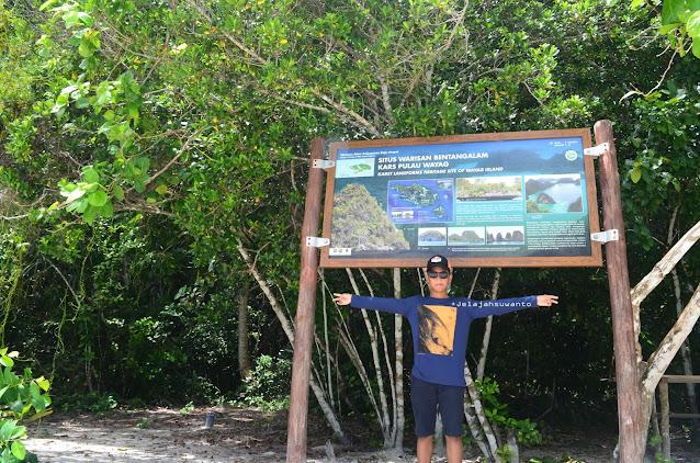 Wayag, Raja Ampat - Situs Warisan Bentangalam Kars  Pulau Wayag Ⓒjelajahsuwanto