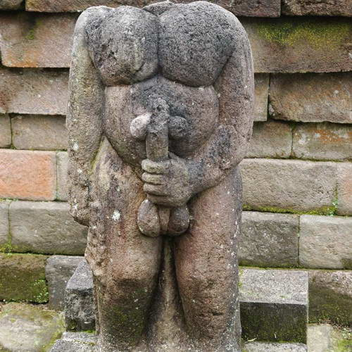 Tinuku Design Mystical and Erotic Sacred Building Sukuh Temple in Central Java
