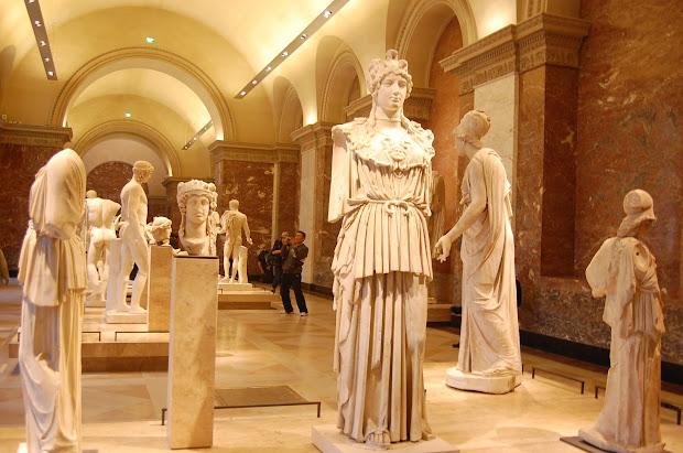 Louvre Museum Greek Sculpture