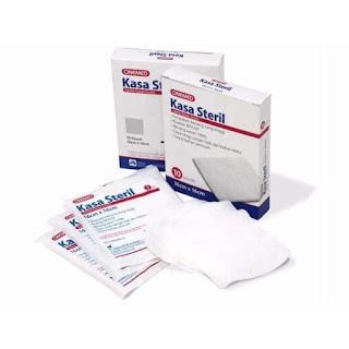 X-Logers.net Kasa Steril Onemed Kasa Sterile 16 cm x 16 cm 1 Box 10 Pouch