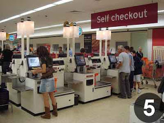 Self Checkout of Stores