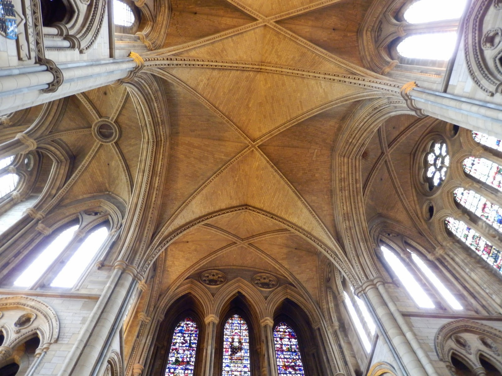 Ceiling Truro Cathedral, Cornwall