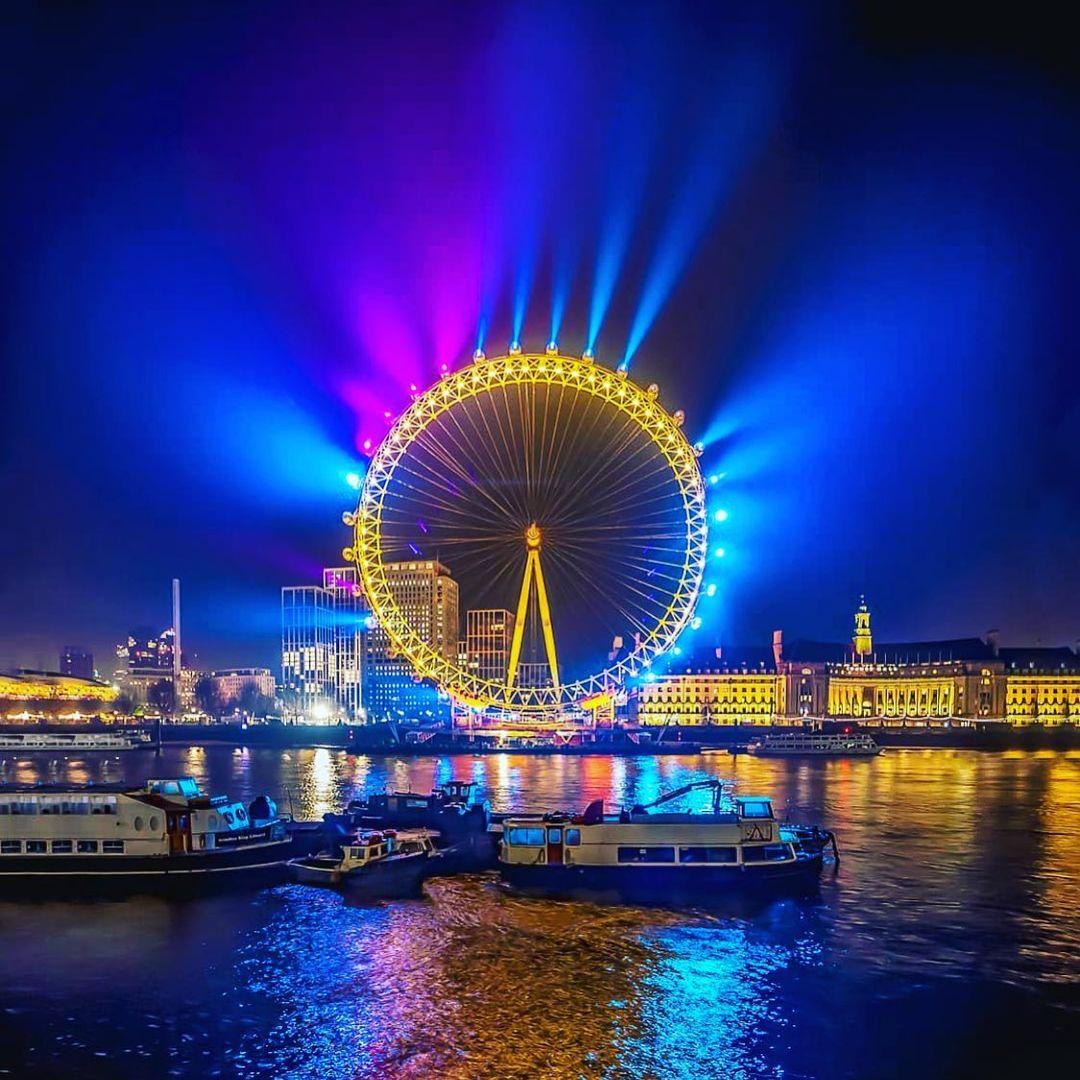Travel wisata the london eye populer 2021