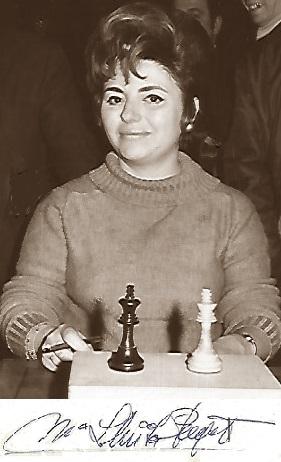 La ajedrecista Maria Lluïsa Puget i González
