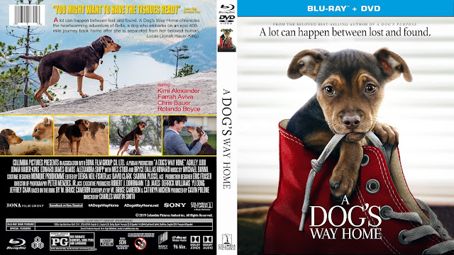 A Dog's Way Home Bluray Cover
