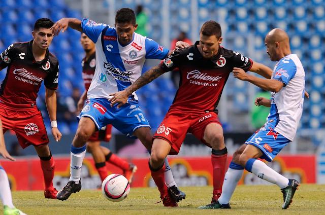 Puebla repartió puntos con Xolos