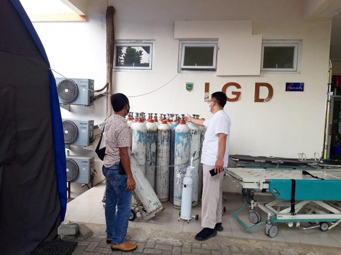 Pendistribusian Oksigen Rumah Sakit Dikawal Sat Reskrim Polres Kebumen