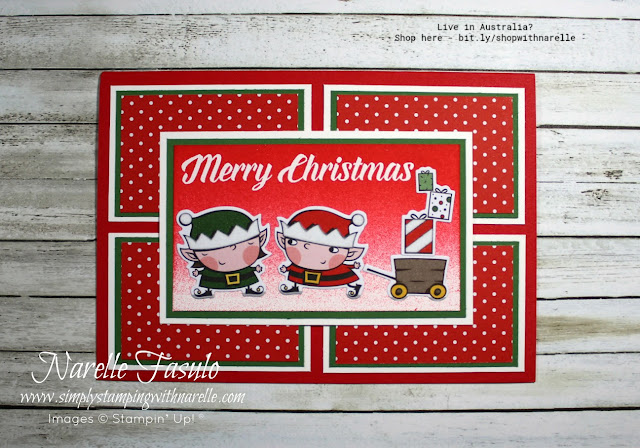 Create cute projects with the Santa's Workshop product suite in my online class - http://bit.ly/SantasWorkshopOnlineClass
