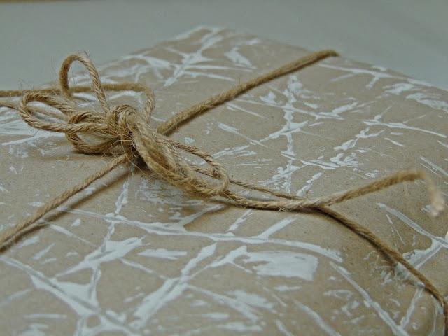 pomysły na papier pakowy