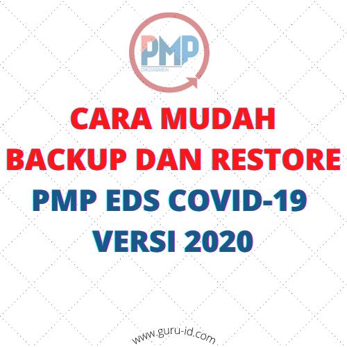 gambar backup dan restore pmp 2020