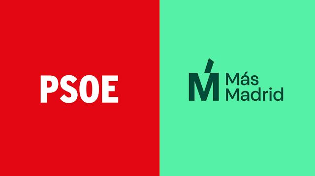 PSOE y Más Madrid