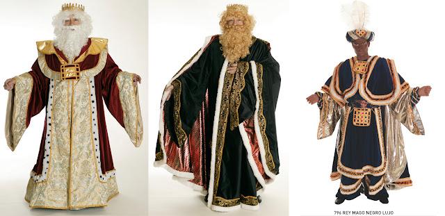 Trajes de Reyes Magos para Ayuntamientos y Asociaciones