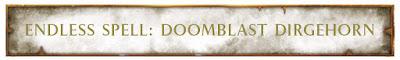 Doomblast Dirgehorn