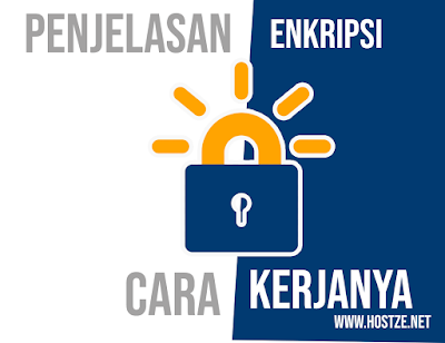 Penjelasan Enkripsi dan Cara Kerjanya - hostze.net