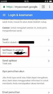 Membuka Akun Gmail Yang Terkunci Verifikasi 2 langkah karena HP Hilang