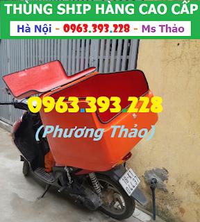 Thùng chở hàng cỡ lớn, Thùng ship đồ ăn nhanh cao cấp tại Hà Nội